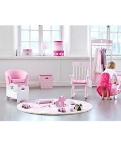 Στρογγυλά Κουτιά Stars ροζ 2