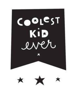 Αυτοκόλλητο τοίχου - Coolest Kid 1