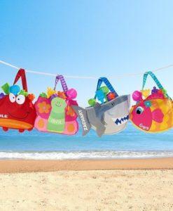 Τσάντα παραλίας καβουράκι 4