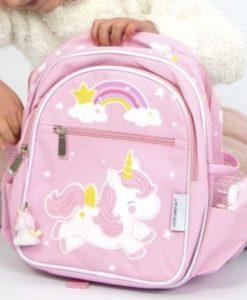Τσάντα Unicorn ρόζ2
