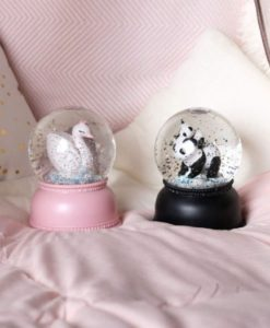 Φωτιζόμενη Χιονόμπαλα Panda1