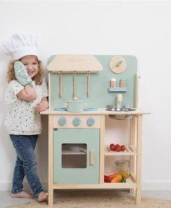 Ξύλινη κουζίνα παιχνιδιού4