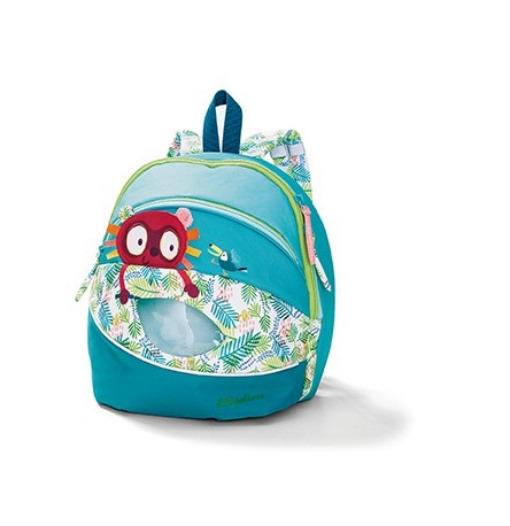 7498cbf908 Τσάντα πλάτης Ζόρζ - Lilliputiens - Cyano