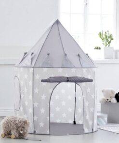 Σκηνή Παιχνιδιού Stars Γκρι Kids Concept grey tent stars