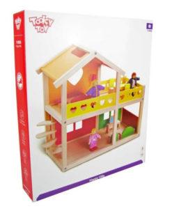 Ξύλινο Σπίτι - Βίλα με ανθρωπάκια & αξεσουάρ4