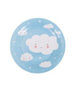Χάρτινα Πιατάκια Σύννεφο3