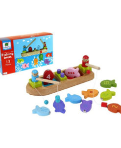 Barbo Toys Ξύλινη βάρκα 3