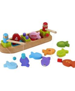 Barbo Toys Ξύλινη βάρκα 2