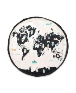 Στρώμα Παιχνιδιού - Τσάντα αποθήκευσης World Map 2