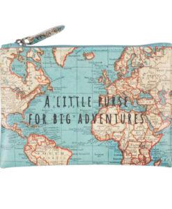 Πορτοφολάκι Vintage Map for big Adventures
