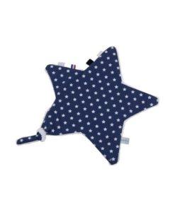 Υφασμάτινο ντουντού μπλε αστέρι