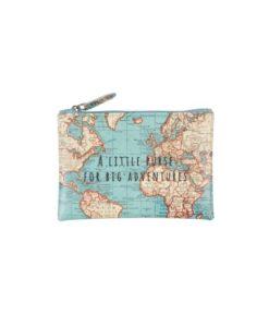 Πορτοφολάκι Vintage Map