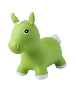 Φουσκωτό ζωάκι JUMPY Αλογάκι Πράσινο