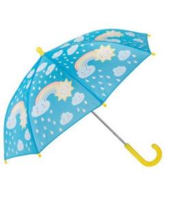Ομπρέλα που αλλάζει χρώμα Ουράνιο Τόξο - Sass and Belle