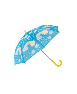 Ομπρέλα που αλλάζει χρώμα Ουράνιο Τόξο