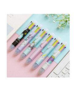 Στυλό 8 χρωμάτων Μονόκερος
