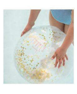 φουσκωτή μπάλα glitter 2