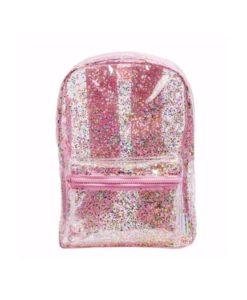 ροζ glitter σακίδιο πλάτης 3