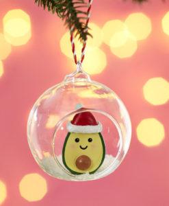 christmas avocado