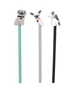 Σετ 3 μολύβια Dogs - Gisela Graham