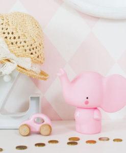 Κουμπαράς Ελεφαντάκι ροζ - A Little Lovely Company