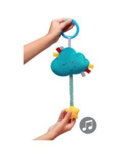 Υφασμάτινο Παιχνίδι με ήχο Συννεφάκι - BabyOno