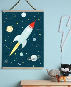 Πόστερ Διάστημα - A Little Lovely Company