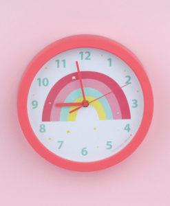Ρολόι Τοίχου Ουράνιο Τόξο - A Little Lovely Company