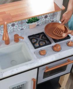 Ξύλινη κουζίνα παιχνιδιού Island Toddler Play - KidKraft