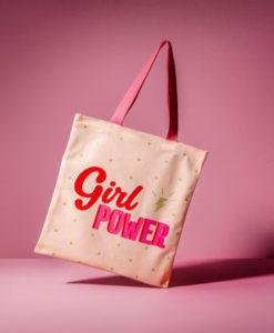 Υφασμάτινη τσάντα ώμου Girl Power - Sass and Belle