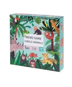 Παιχνίδι μνήμης ζώα της ζούγκλας - Petit Monkey