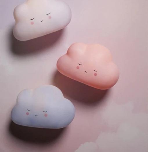 Φωτάκι νυκτός σύννεφο λευκό - Teeny & Tiny