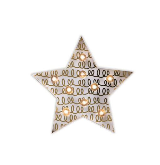 Φωτιστικό LED Αστέρι - The Little Paper Co.