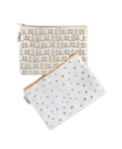 Κασετίνα με χρυσές λεπτομέρειες - The Little Paper Co.