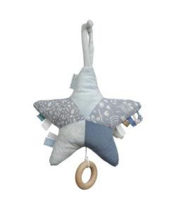 Υφασμάτινο μουσικό αστέρι μπλε - Little Dutch