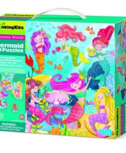 3D Puzzle Δαπέδου Γοργόνες - 4M Toys