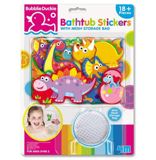 Αυτοκόλλητα Μπάνιου Δεινόσαυροι - 4M Toys