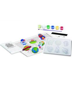 Φωσφορούχο Διάστημα Μαγνητάκια / Καρφίτσες - 4M Toys 2